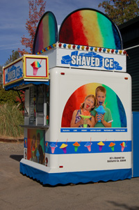 Shaved Ice Booth